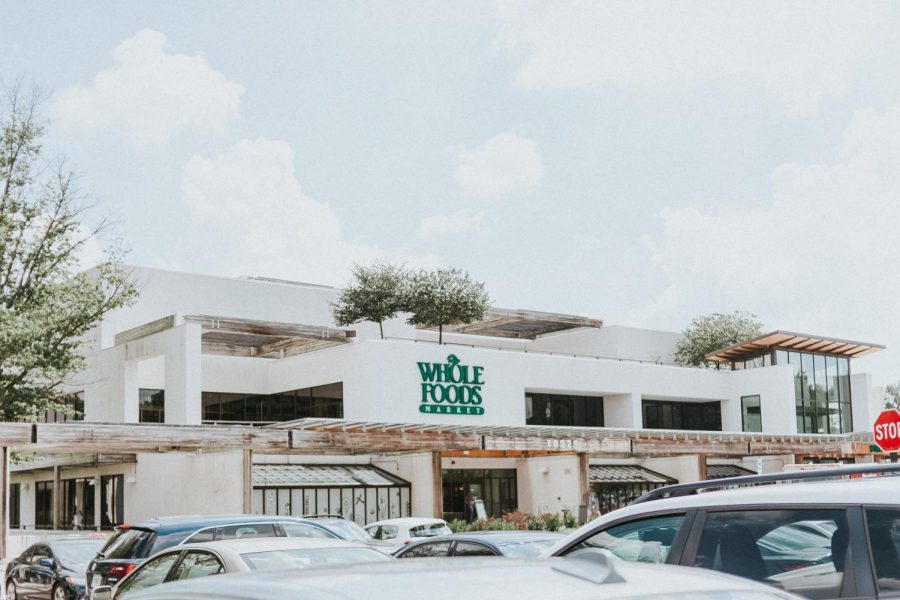 An outside view of Whole Foods