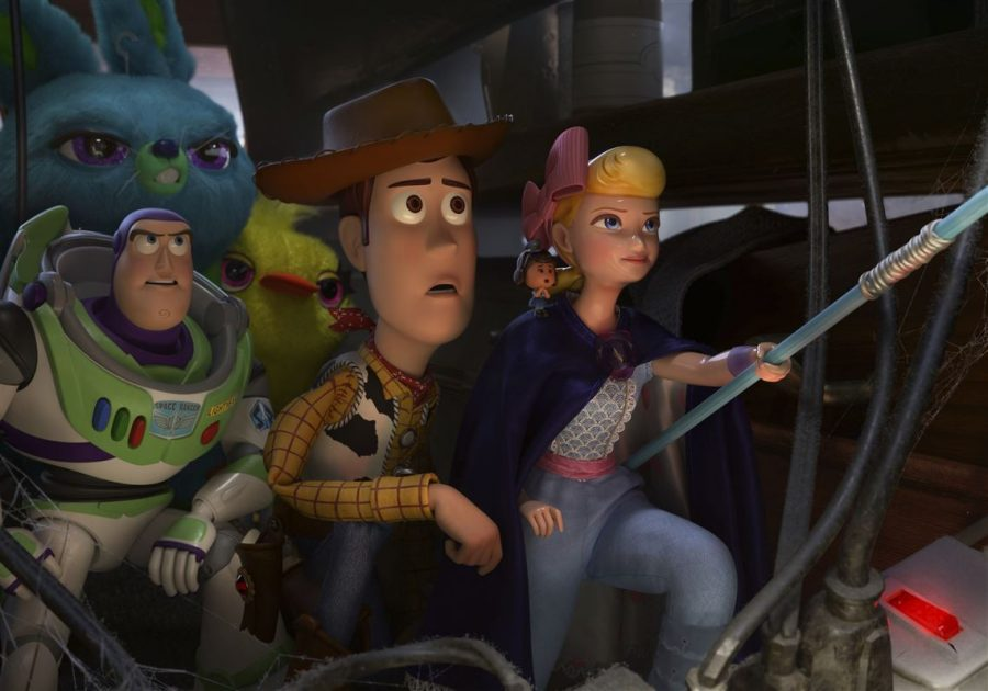 The Toy Story crew on its newest adventure