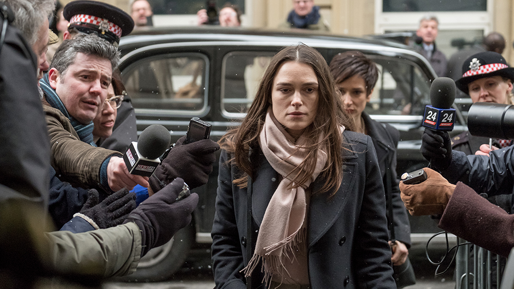 Keira Knightley appears in Official Secrets