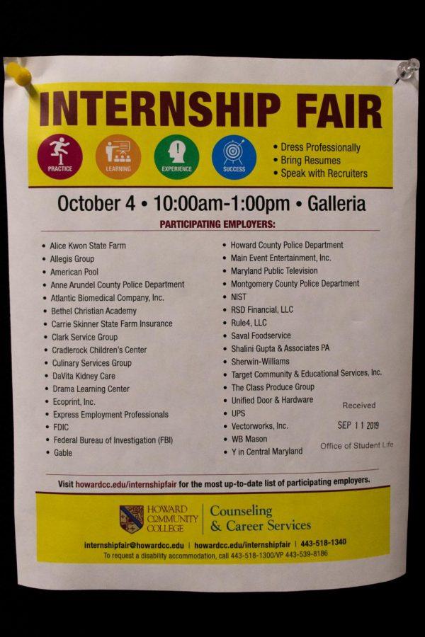 Internship Fair (Fall 2019)