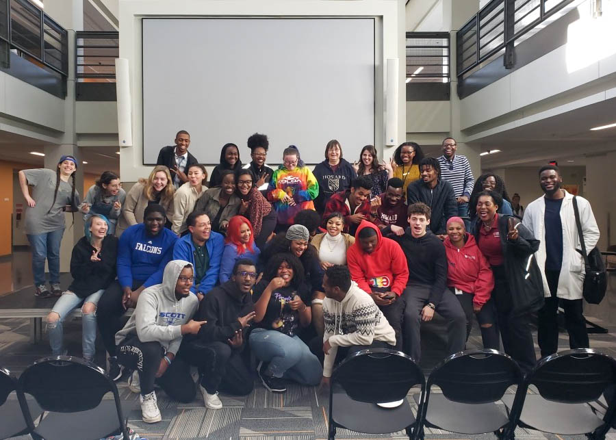 Students after the Kelly Kellz show / ed. Austin Taro