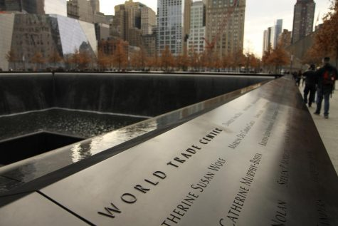World Trade Center Memorial in NYC