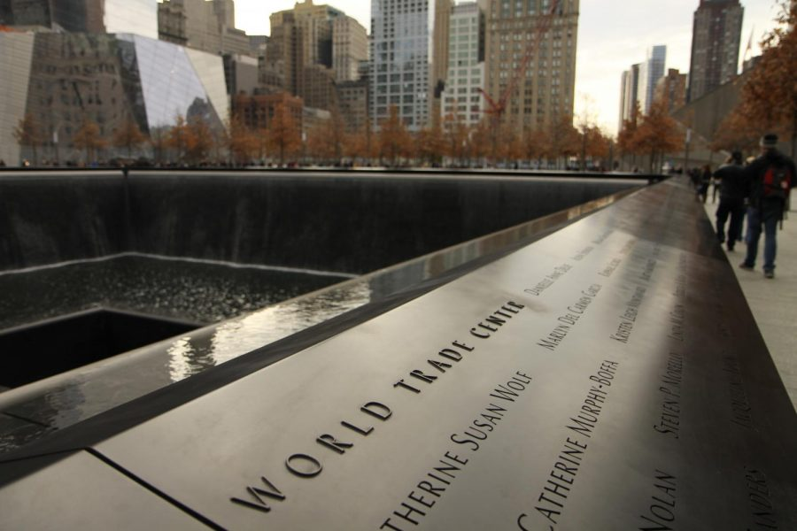 World Trade Center Memorial in NYC