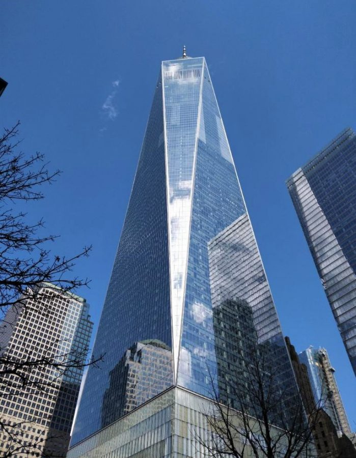 The One World Trade Center now stands in New York City.