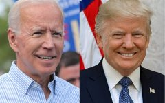 US President Elect Joe Biden and current US President Donald Trump.