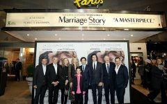 New York Premiere of Marriage Story hosted by Netflix at The Paris Theater. Pictured: Noah Baumbach (Director), Laura Dern, Alan Alda, Ray Liotta, Julie Hagerty,  Azhy Robertson,  Adam Driver, David Heyman (Producer) .-Photo by: Marion Curtis / StarPix for Netflix