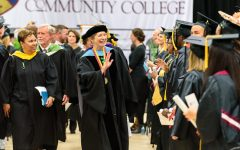President Kathleen Hetherington will be saying goodbye to HCC graduates for the last time.