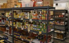 HCCs more expansive food pantry offers a variety of nutritious foods for students in need.